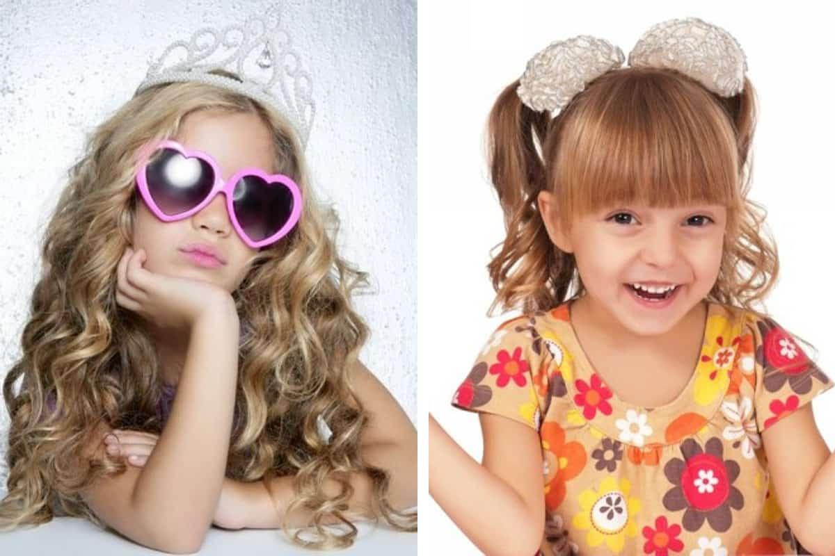 تسريحات اطفال شعر قصير
