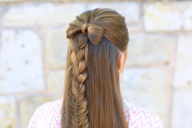 تسريحات الشعر الطويل في البيت