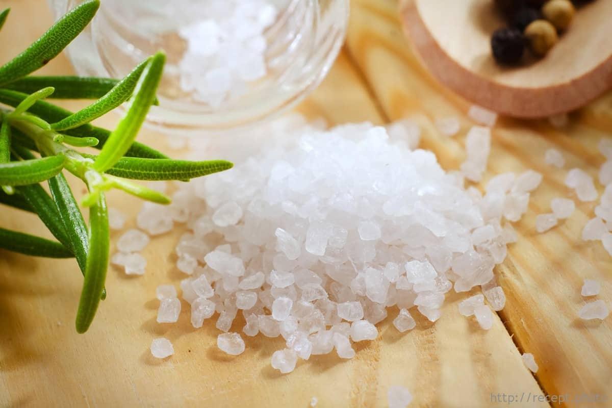 طريقة استخدام الملح الإنجليزي مجلة البرونزية