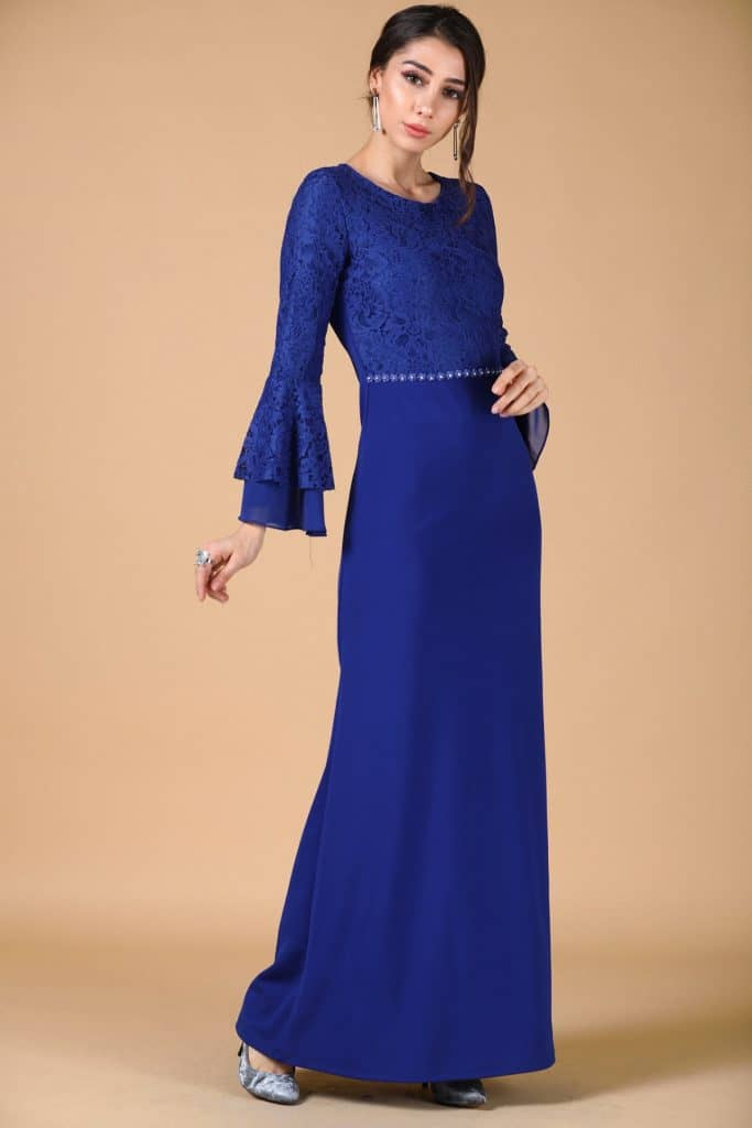 فستان طويل سهرة