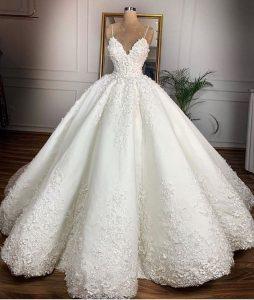 فساتين زفاف جميلة