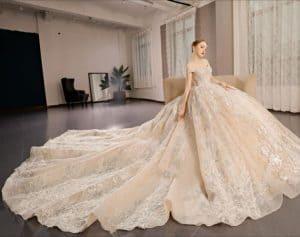 أحدث فساتين زفاف 2019