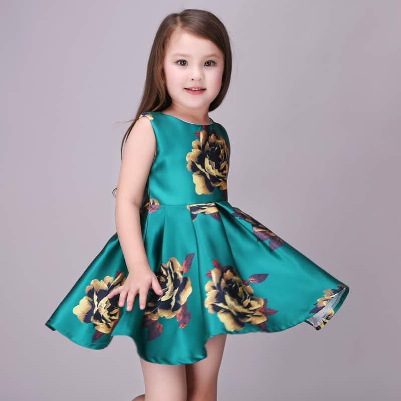 فستان قصير 2019 للأطفال