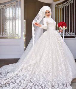 فساتين اعراس للمحجبات