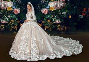 فساتين زفاف فخمه