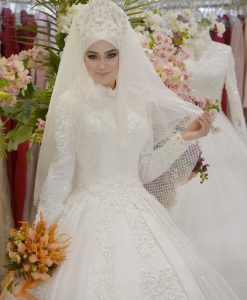 فساتين زفاف محجبات