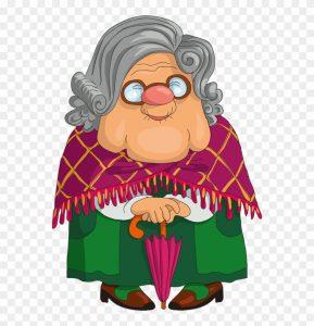 قصة السيدة العجوز