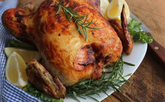 كيف اسوي دجاج شوايه في البيت