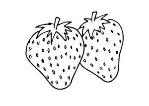 صور فراولة كرتونية رسومات فراولة للاط مجلة البرونزية