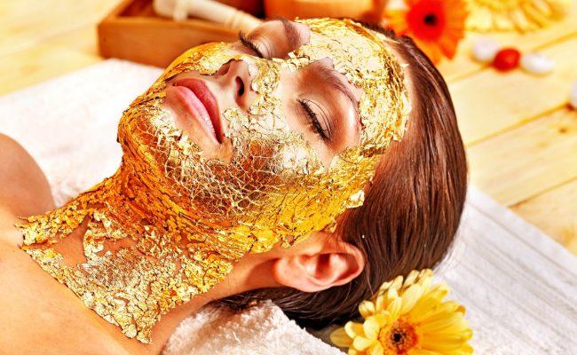 ماسك الذهب فوائد قناع الذهب للبشرة