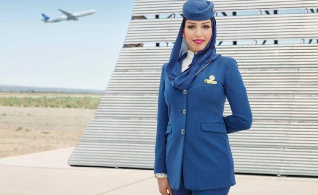 شروط مضيفة الطيران في السعودية