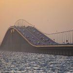 في أي عام تم افتتاح جسر الملك فهد