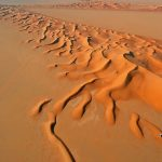 أين تقع صحراء الربع الخالي في السعودية